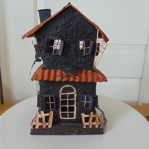 Haunted House - Metal Halloween Spooky Dwelling